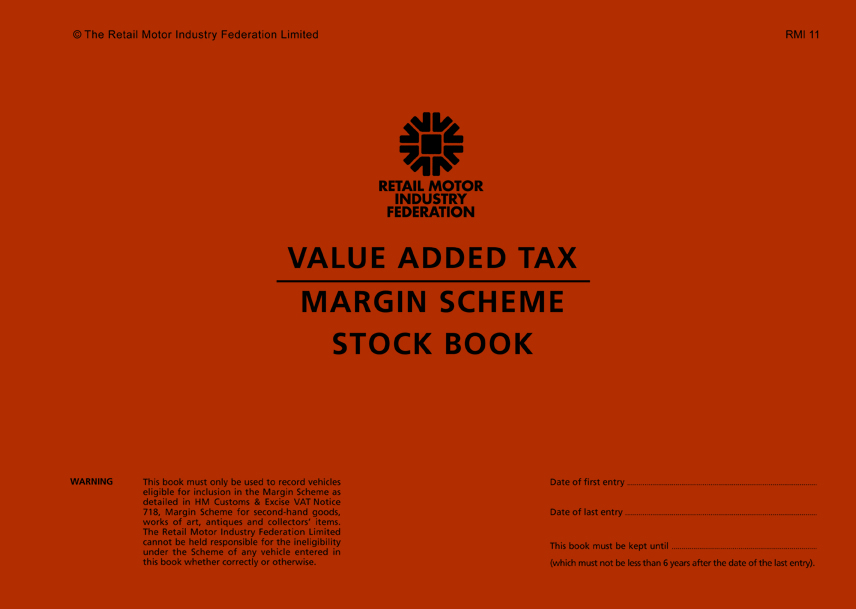 VAT Books